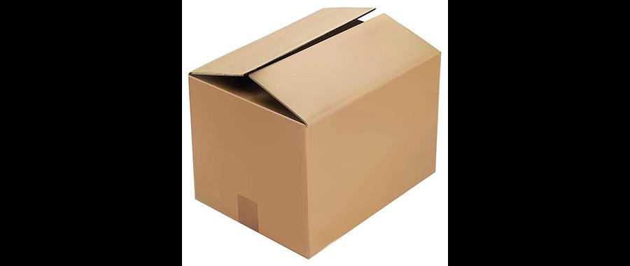 10 Cajas de cartón extra gruesa 40x40x60 cm 5 pliegos