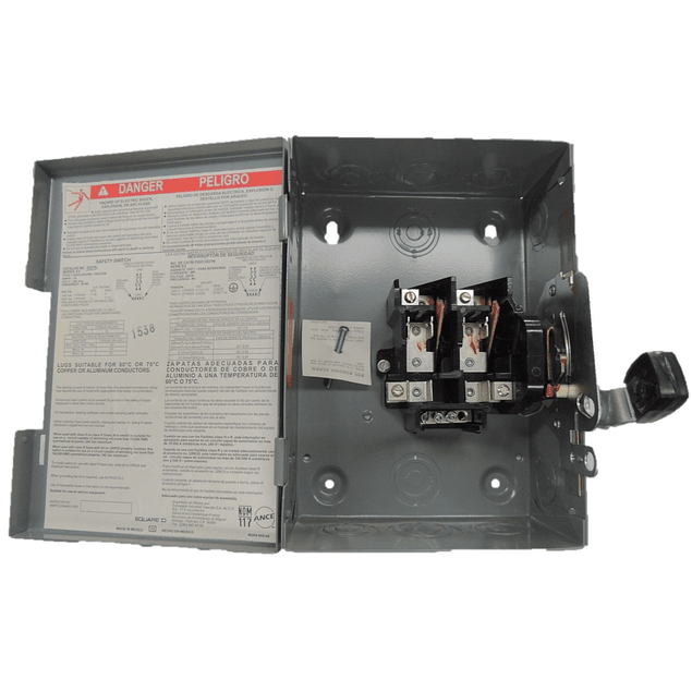 Safety switch 2p, 30A D221N
