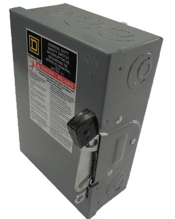 3p safety switch, 30A D321N