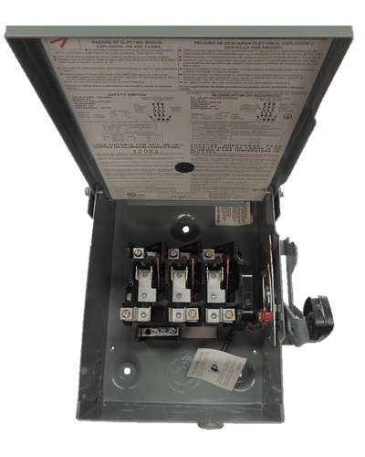 Safety switch p for outdoor weather 3p, 30A D321NRB