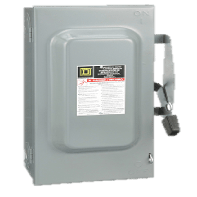 Safety switch 2p, 60A D222N