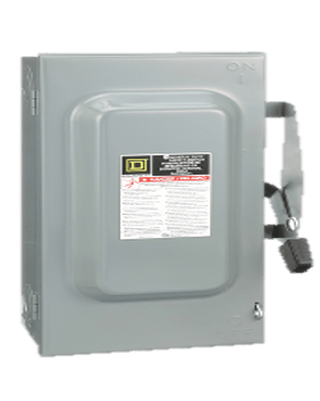 Safety switch 3p, 60A D322N