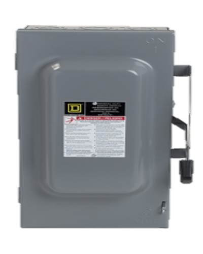 Interruptor de seguridad 3p, 100A D323N