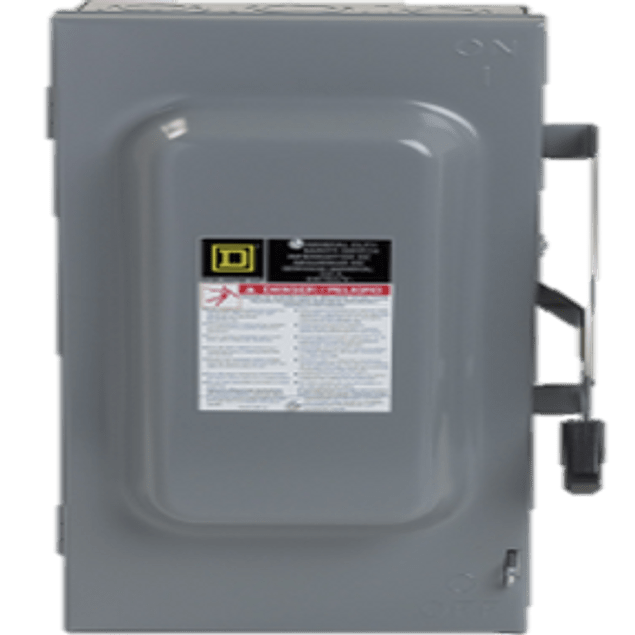 Safety switch 3p, 100A D323N