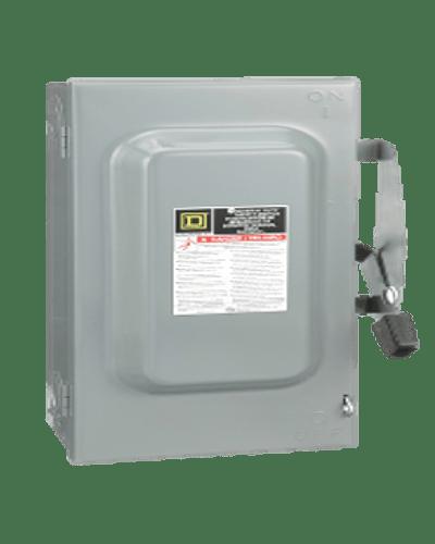 Interruptor de seguridad 3p, 100A DU323
