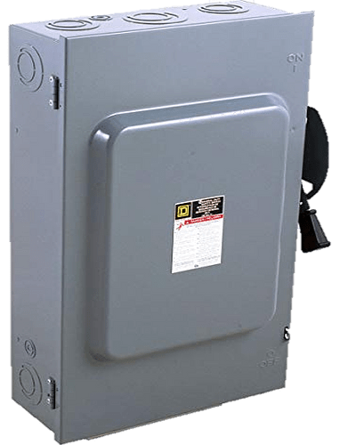 Safety switch 3p, 200A DU324