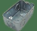 Cajas de metal/Chalupas 2X4''