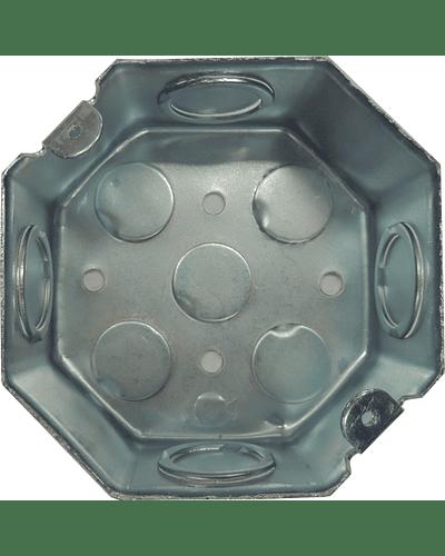 Octagonal box of 3 ''
