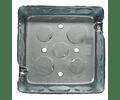 Caja cuadrada de 4