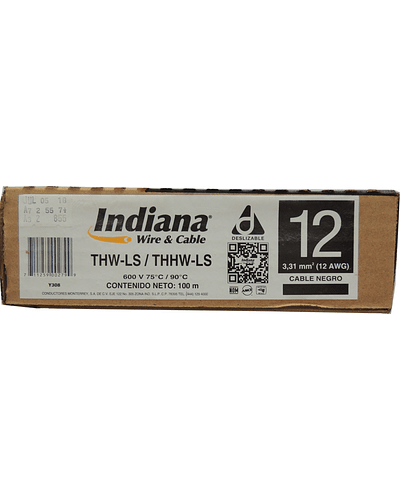 Cable Calibre 12 Indiana