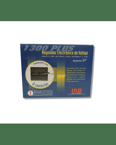 Regulador microvolt 1300VA 120V