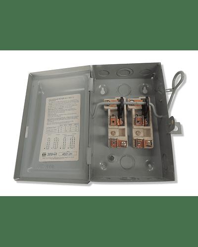 Interruptor de seguridad 2x30 con p/fusible