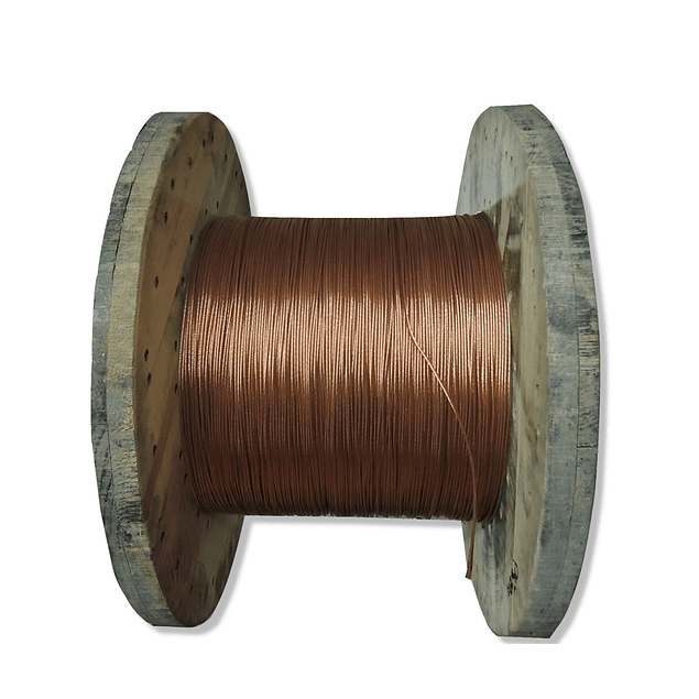 Carrete cable desnudo calibre 10