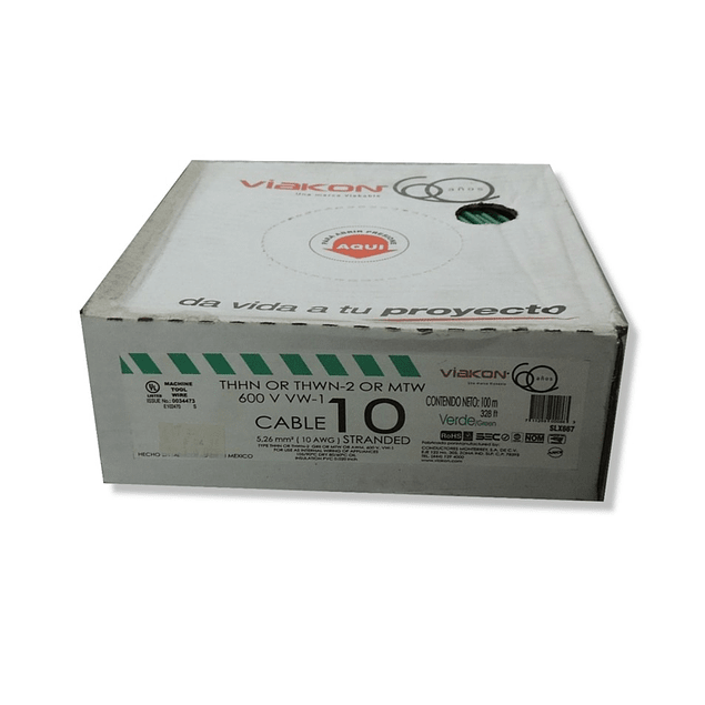 Cable Calibre 10 Thwn