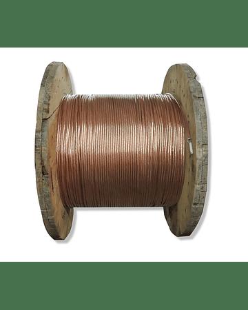 Carrete cable desnudo calibre 1/0