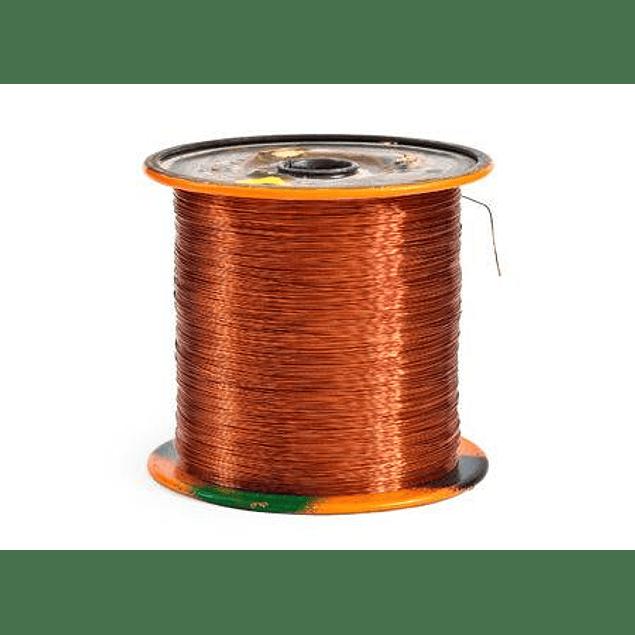 Carrete cable desnudo calibre 14