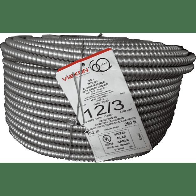Cable Armorflex 3x12 (1H) Tipo MC