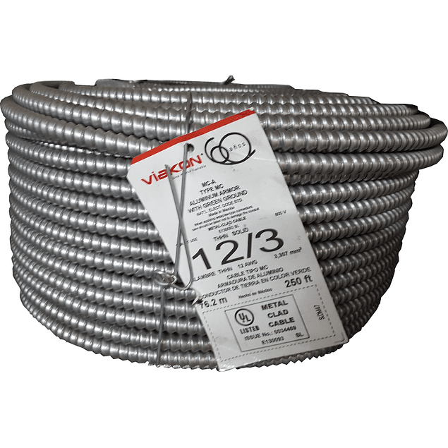 Cable Armorflex 3x12 (1H) Tipo MC