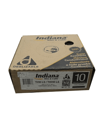 CAJA CABLE INDIANA 10 AWG (100m)