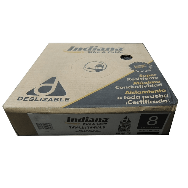 CAJA CABLE INDIANA 8 AWG (100m)