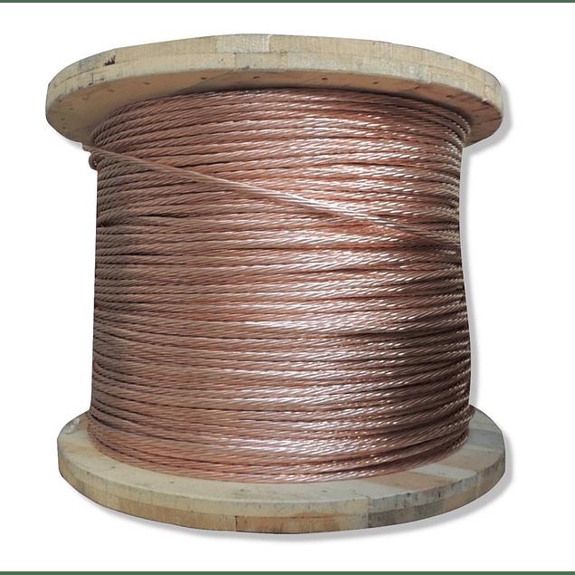 Carrete Cable desnudo calibre 4/0