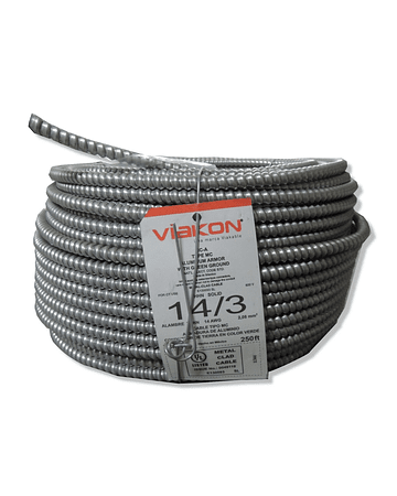 Cable Armoflex 3x14 (1H) Tipo MC