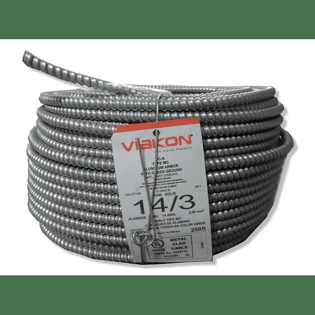 Cable Armoflex 3x14 (1H) Tipo MC