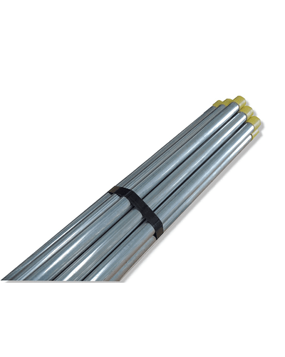 Thick wall conduit tube with coupling