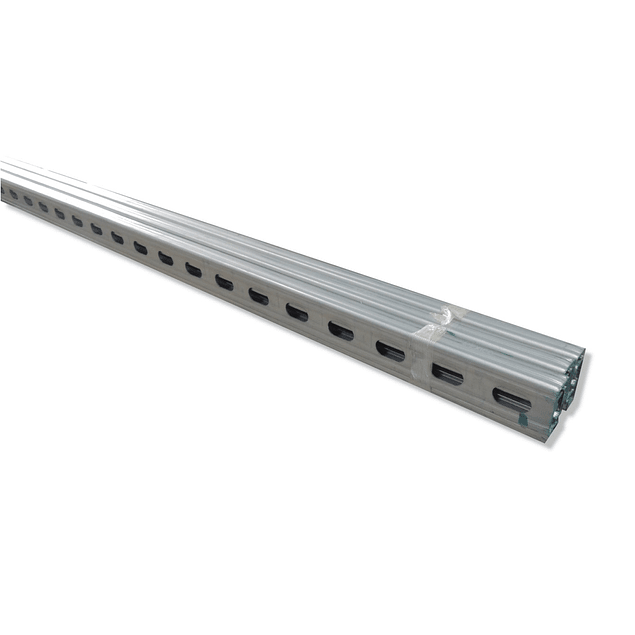 Perforated single-channel profile
