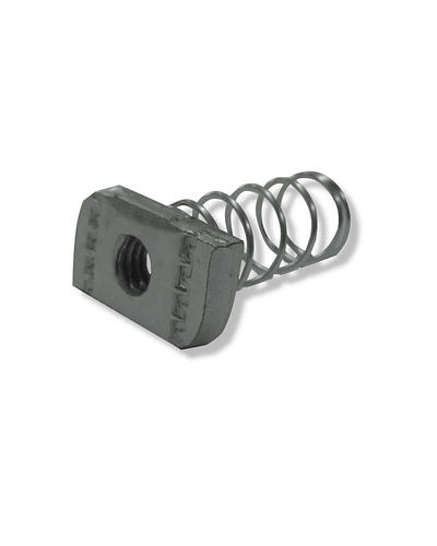 3/8 hex nut with spring