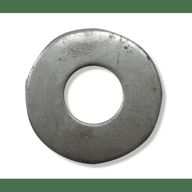 Flat round galvanized
