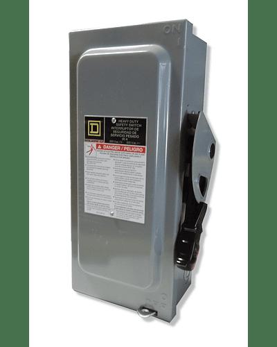 Safety switch 3P 30A 600V H361