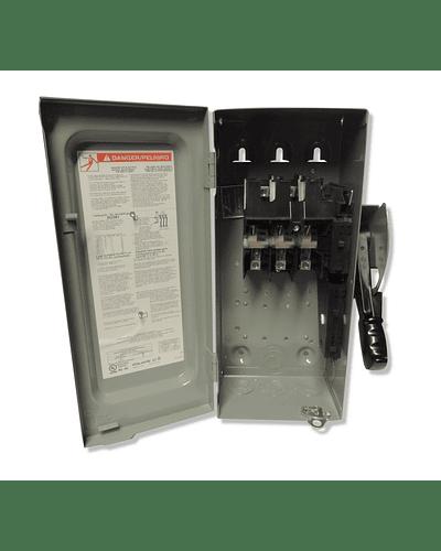 Interruptor de seguridad 3P 30A 600V H361