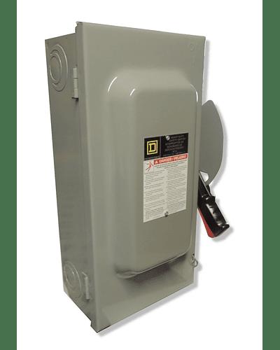 Interruptor de seguridad 3P 60A 600V H362