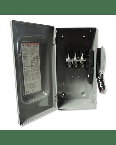 Interruptor de seguridad 3P 100A 600V H363