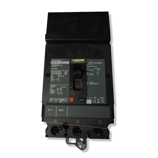 Interruptor termomagnetico para I-Line modelo HDA
