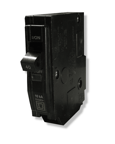 Switch SQUARE-D Model QO 1 Pole