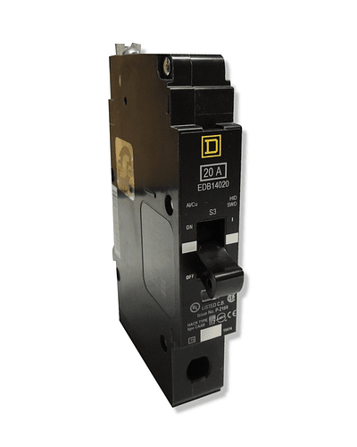 Interruptor termomagnetico 1P modelo EDB