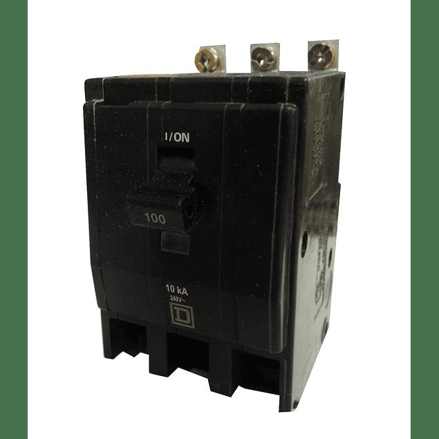 Interruptor termomagnetico atornillable 3 polos