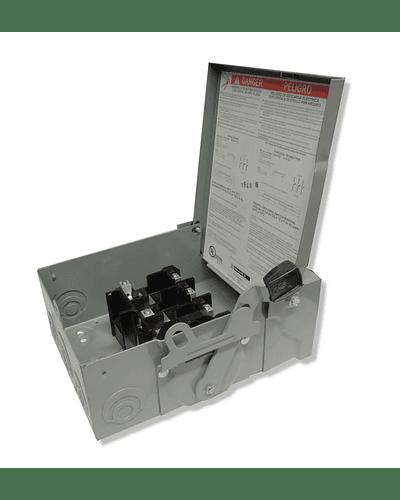 Safety switch 2x30 model DU221RB