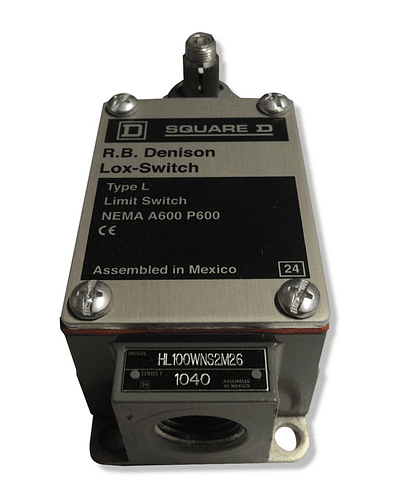 Limit switch model HL100WNS2M26