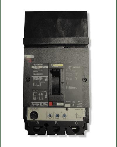 Interruptor termomagnetico 3P modelo JGL