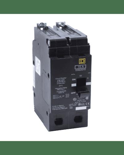 Interruptor termomagnetico 2P modelo EDB