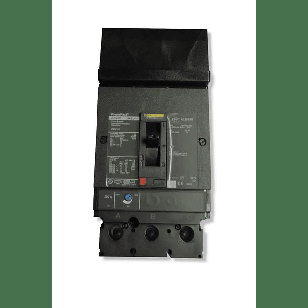 Interruptor termomagnetico modelo JJA