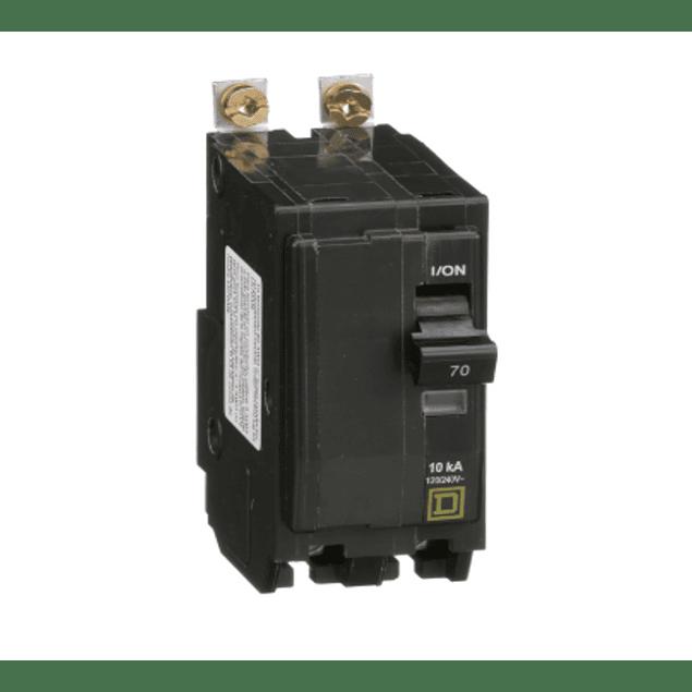 Interruptor termomagnetico atornillable 2 Polos
