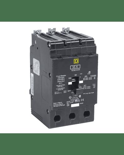 Interruptor termomagnetico 3P modelo EGB