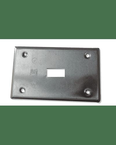 Tapa rectangular para interruptor TR-0415