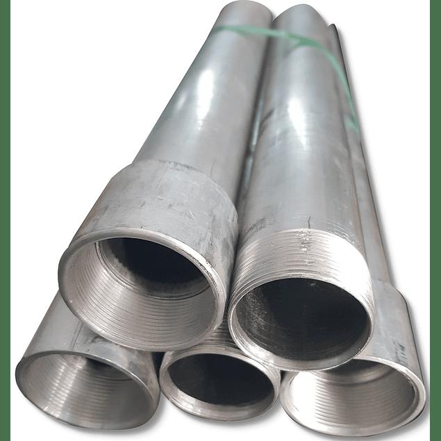 Tubería de aluminio aprueba de explosión Cédula 40