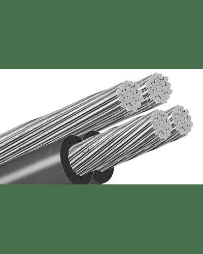 Cable AL C/Neutro Mensajero  AAC