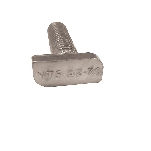 T-Bolt 28/15 M10x30 SS